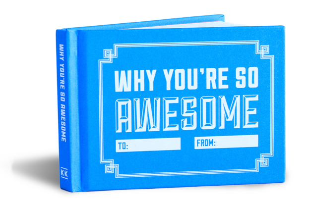 Gift Journal - Why You're So Awesome