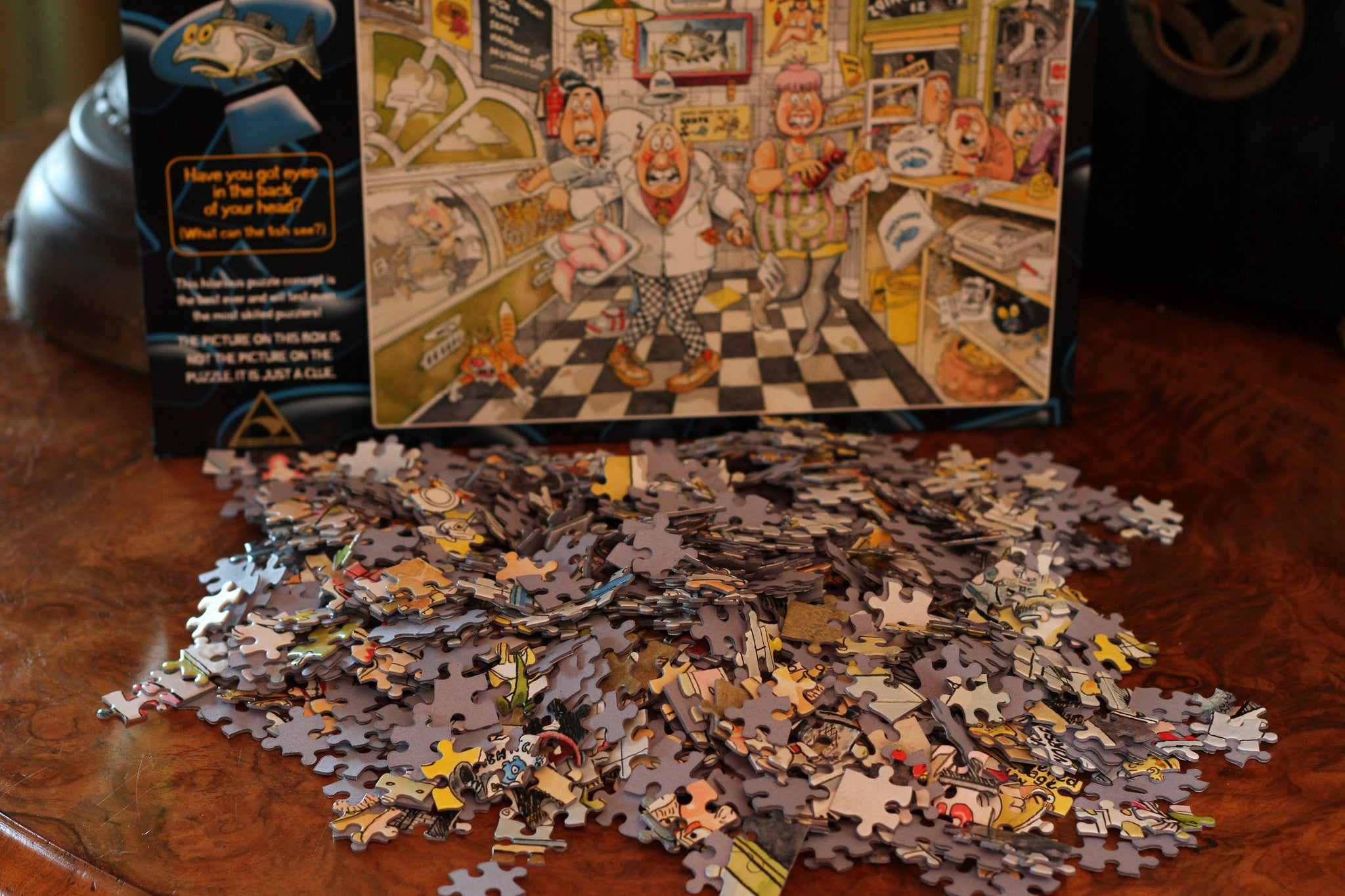 The Famous Wasgij Puzzle - 1000 pieces