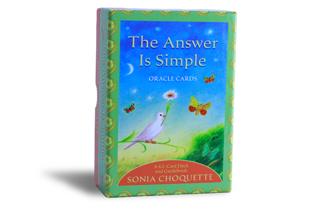 The Answer is Simple - Oracle cards