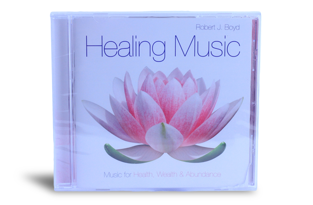 Healing Music CD - by Robert J. Boyd