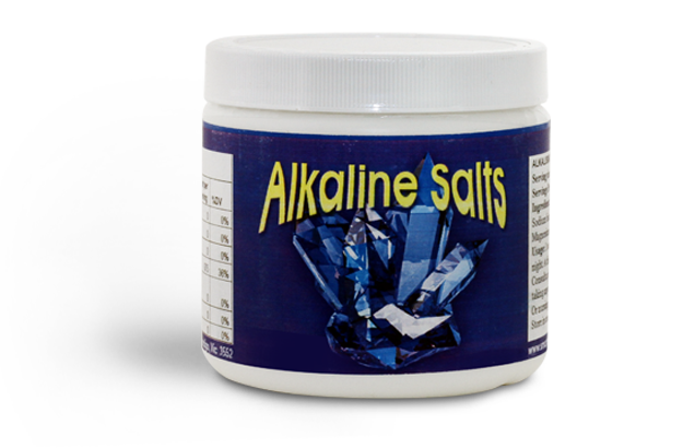 Alkaline salts - Instant Alkaline hit after a big night