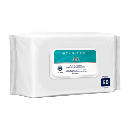 Mosphere 75% Alcohol Disinfecting Wipes, Case of 36 - North York Medical Supplies