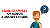 Learn About Minor And Major Errors On Your Road Test