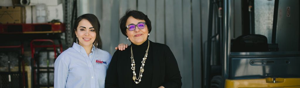 Meet Vanessa Faggiolly and Nora Saca of Amerisal Foods in Van Nuys