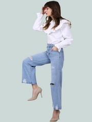 JEANS SELECTED CULOTTE
