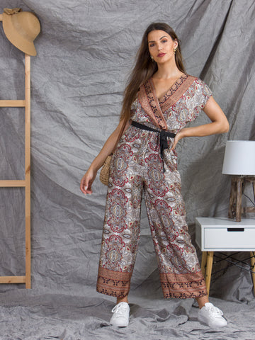Jumpsuit Terracota