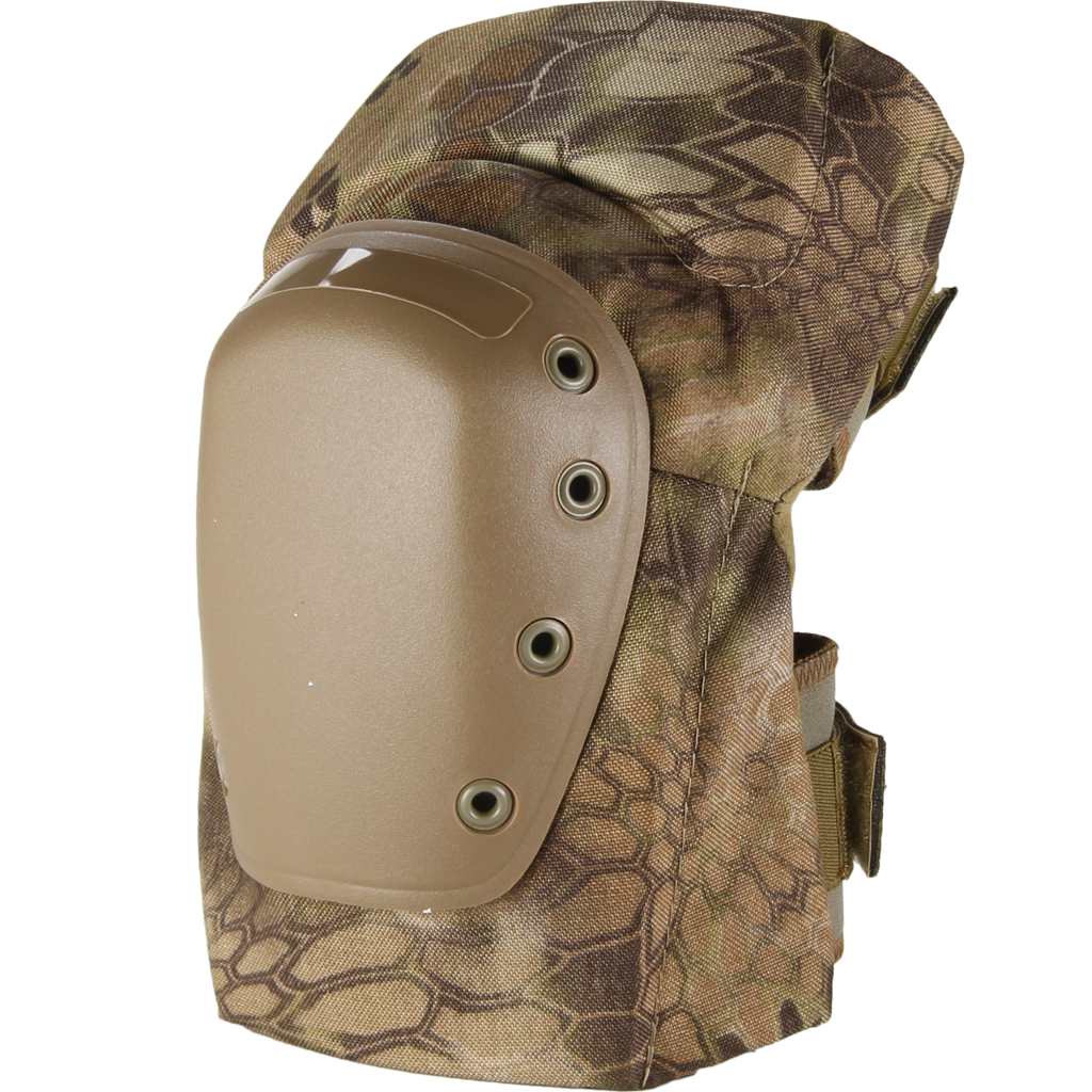 BPE-USA K2-C Camo Knee Pads Kryptek Highlander