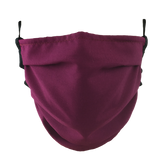 Wine Red - Washable & Reusable Surgical Style Face Masks