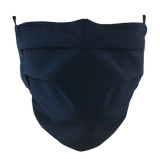 Navy Blue - Washable & Reusable Surgical Style Face Masks