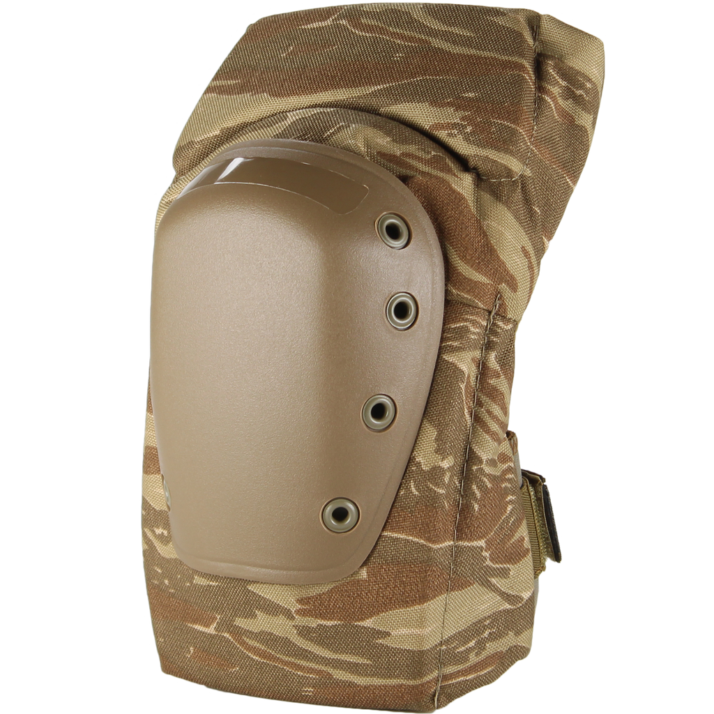 BPE-USA K2-C Knee Pads Desert Tiger Stripe Camo