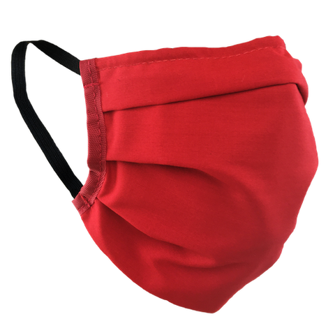 Red - Washable & Reusable Surgical Style Face Masks