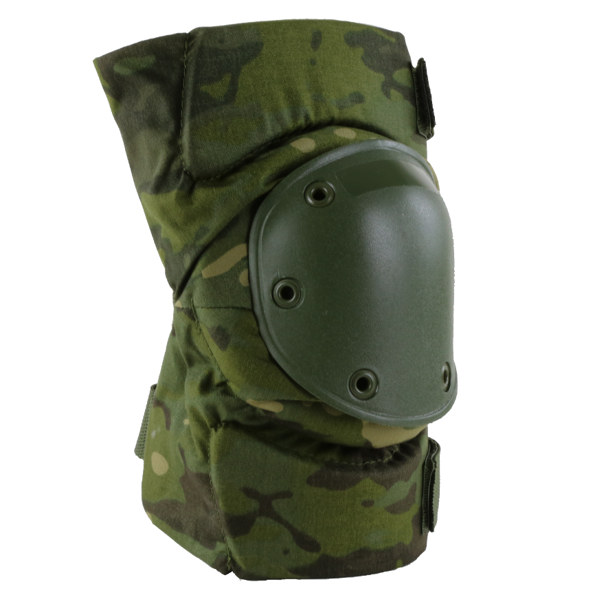 BPE-USA Army Style Knee Pads Multicam Tropic