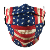 Stars & Stripes - Washable & Reusable Surgical Style Face Masks