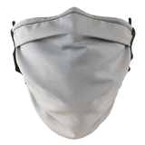 Grey - Washable & Reusable Surgical Style Face Masks