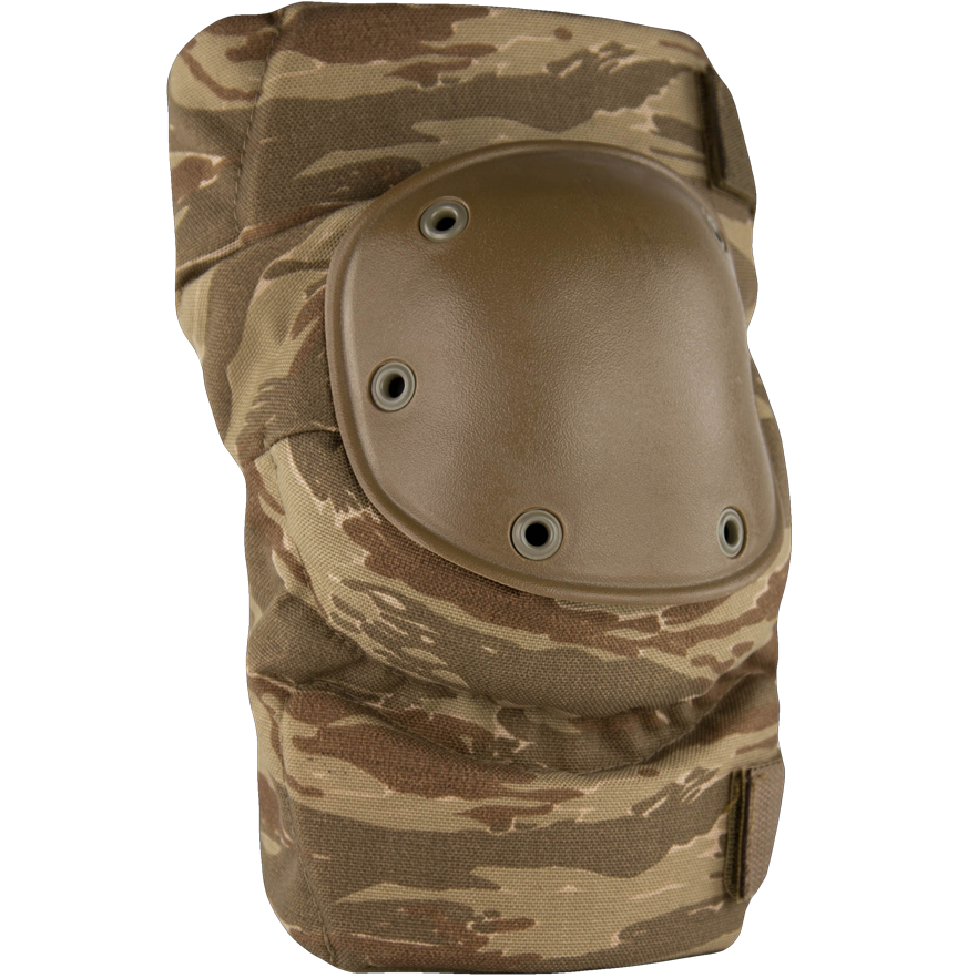 BPE-USA Army Style Knee Pads Desert Tiger Stripe