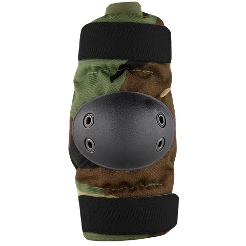 BPE-USA Army Style Elbow Pads Woodland Camo