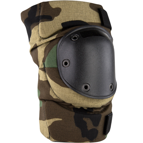 BPE-USA Army Style Knee Pads Woodland Camo
