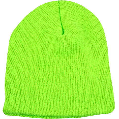 BPE-USA Classic Beanie Lime Green