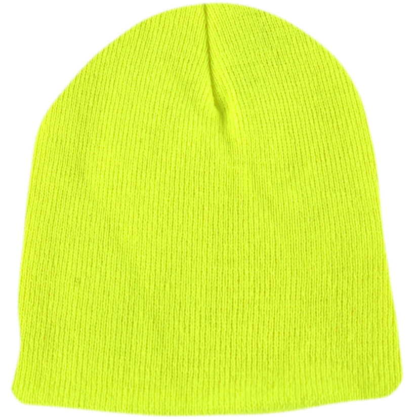 BPE-USA Classic Beanie Safety Yellow