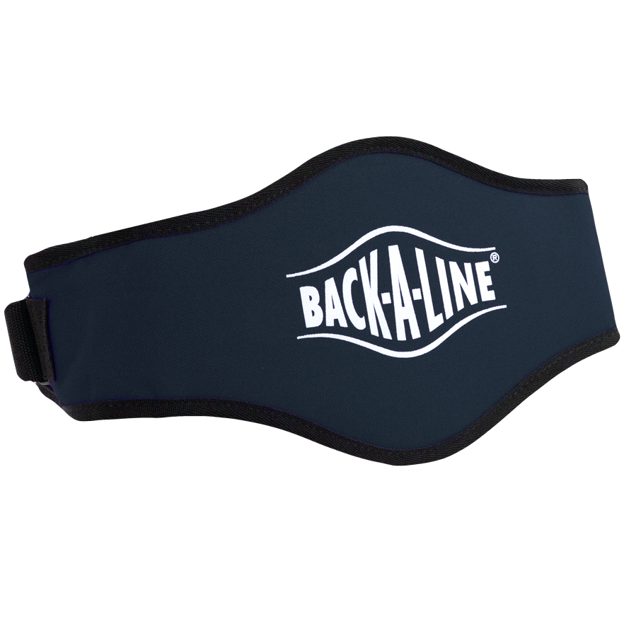 BPE-USA Back-A-Line Back Support Belt Navy Blue