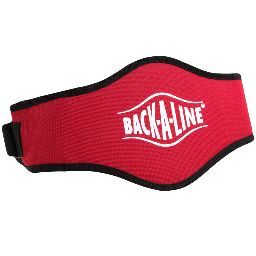 BPE-USA Back-A-Line Back Support Belt Red