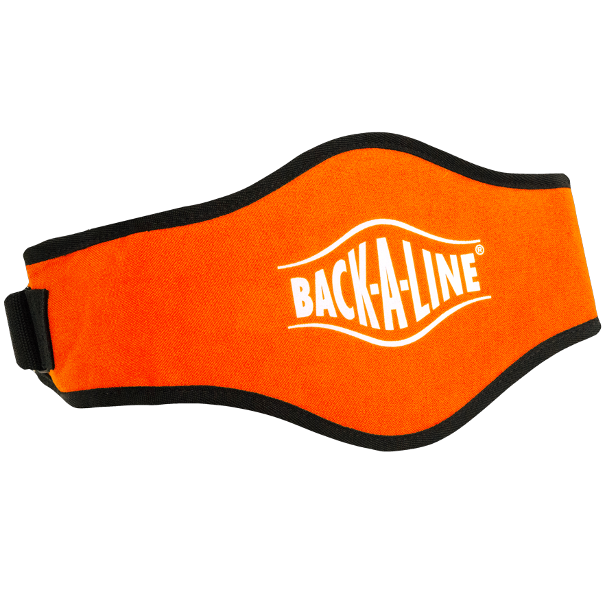 BPE-USA Back-A-Line Back Support Belt Orange