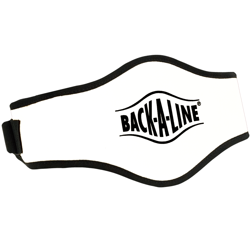 BPE-USA Back-A-Line Back Support Belt White
