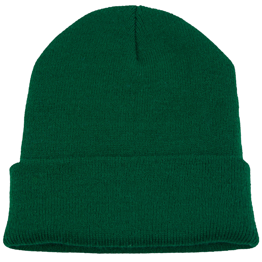 BPE-USA Cuff Beanie Forest Green