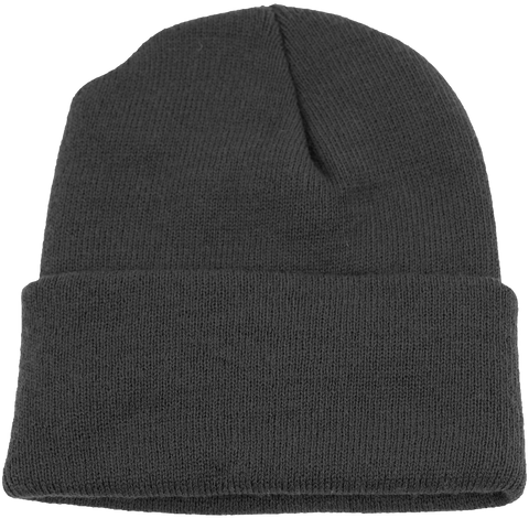 BPE-USA Cuff Beanie Dark Gray