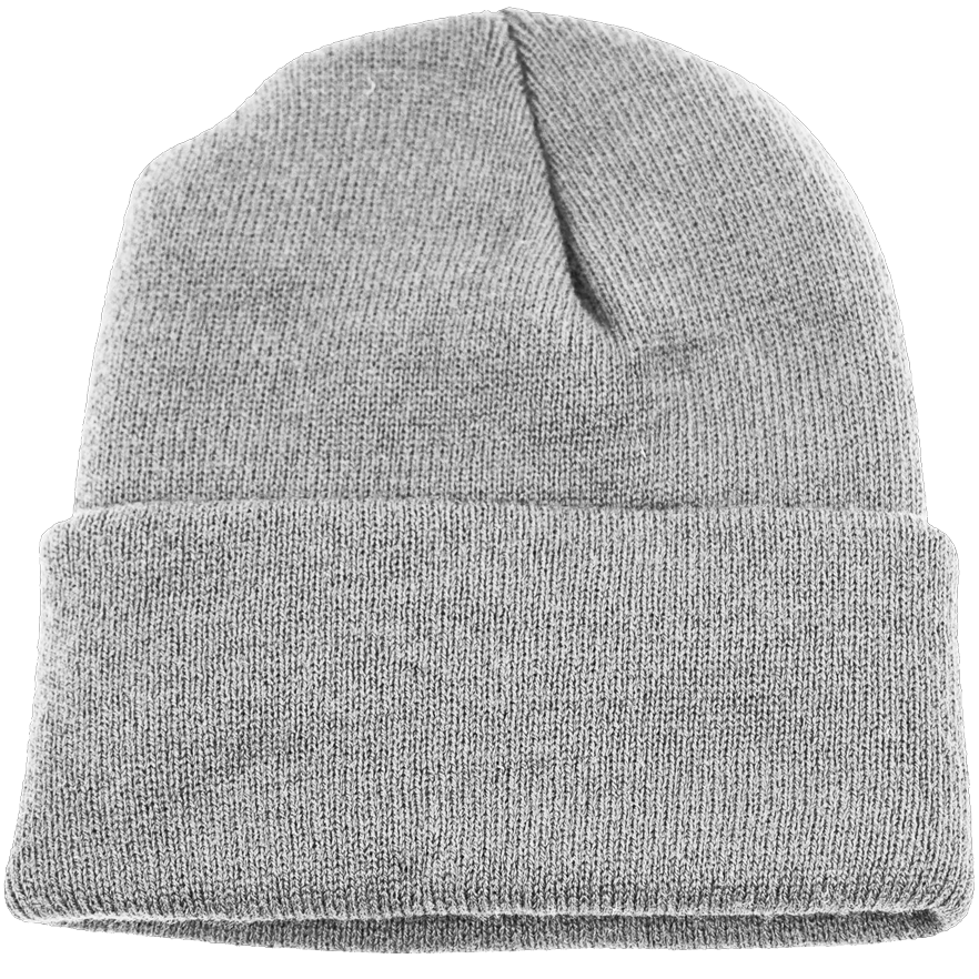 BPE-USA Cuff Beanie Light Gray