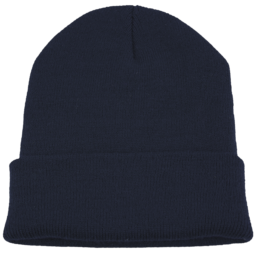 BPE-USA Cuff Beanie Navy Blue