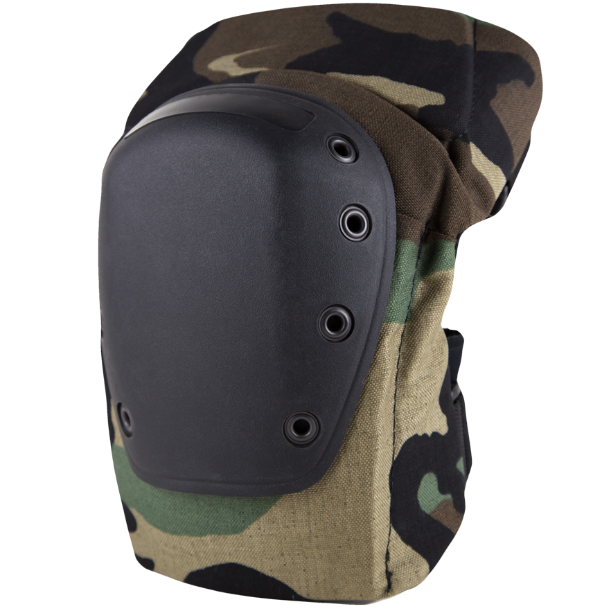 BPE-USA K2-C Knee Pads Woodland Camo