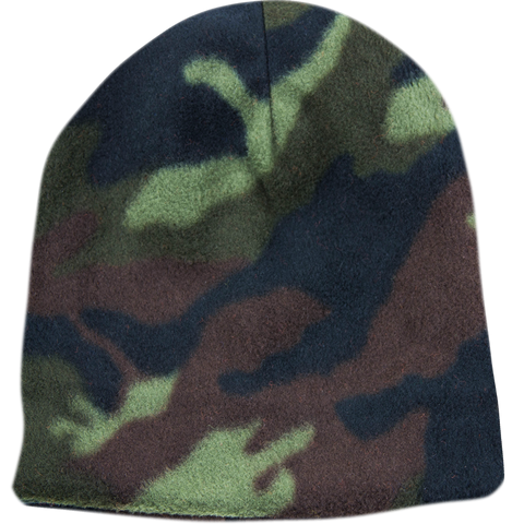 BPE-USA Camo Beanie Fleece Reversible