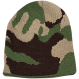BPE-USA Reversible Knit Camo Beanie