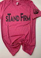 Stand Firm Bella+Canvas with AYG Logo on sleeve