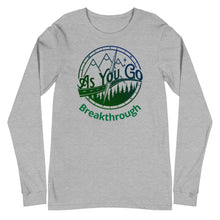"Load image into Gallery viewer, As You Go Lifestyle Brand Encouraging and Inspiring ""Breakthrough"" Long Sleeve Tee"