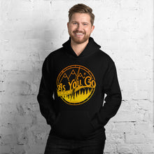 "Load image into Gallery viewer, As You Go Lifestyle Brand Encouraging and Inspiring ""AYG Logo"" Pullover Hoodie"