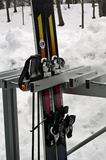 Freestanding Rack for Skis. Snowboards, Fats