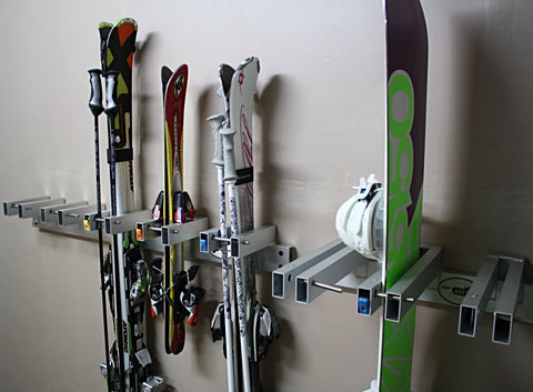 Wall Mount Locking Storage Racks (Rack Only)
