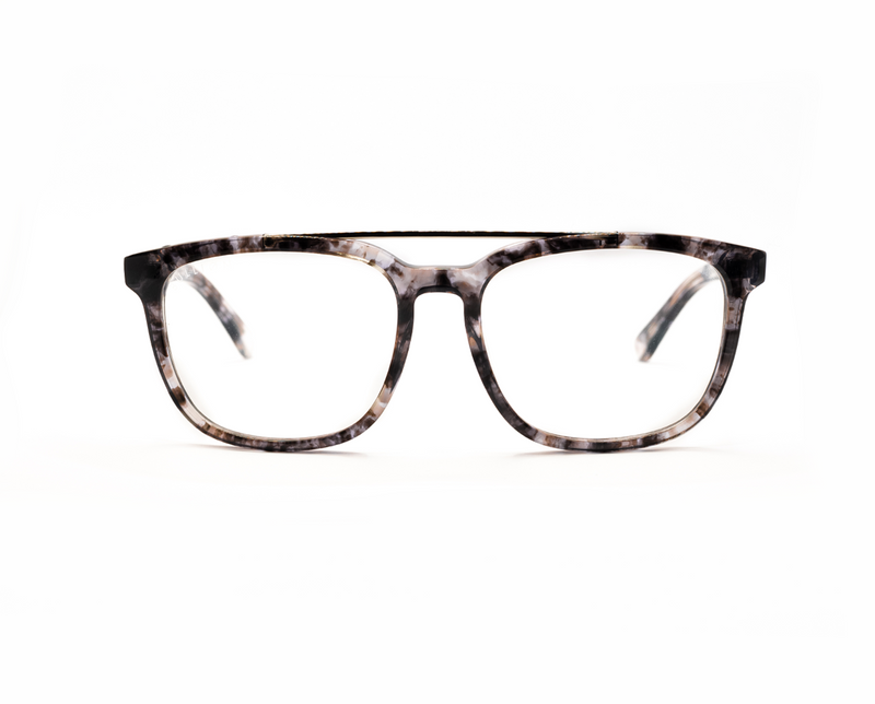 Milan - Blue Light - Grey Tortoiseshell