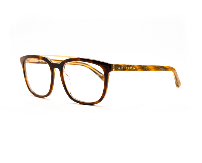 Milan - Blue Light - Brown Tortoiseshell