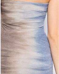 Ombre Tube Dress