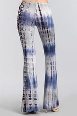 Printed Bell Bottom Pants