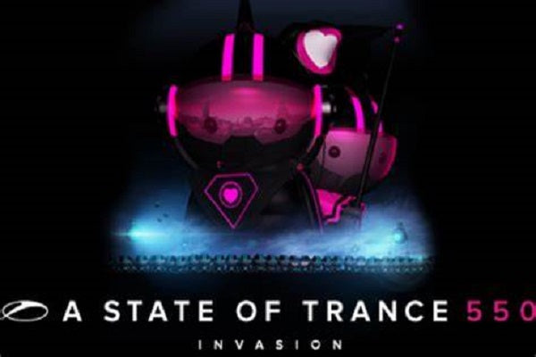 A State of Trance 550 Birthday Audio & Video DJ-Sets BLU-RAY / 32GB USB-DRIVE COMPILATION (2012)