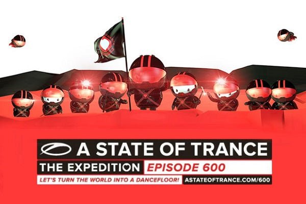 A State of Trance 600 Birthday DJ-Sets DVD Compilation (2013)
