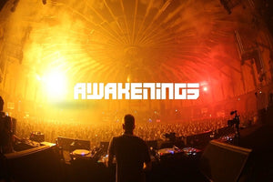 Awakenings Techno Events Live Audio & Video DJ-Sets PORTABLE 250GB USB 3 HARD DRIVE (2001 - 2020)