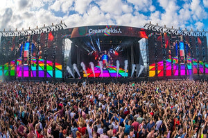 Creamfields Global Events & Clubs Live Audio & Video DJ-Sets PORTABLE 160GB USB 3 HARD DRIVE (1995 - 2019)