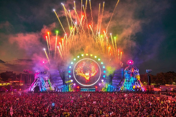 Electric Daisy Carnival (EDC) Orlando Live Audio & Video DJ-Sets BLU-RAY / 16GB USB-DRIVE COMPILATION (2012 - 2017)