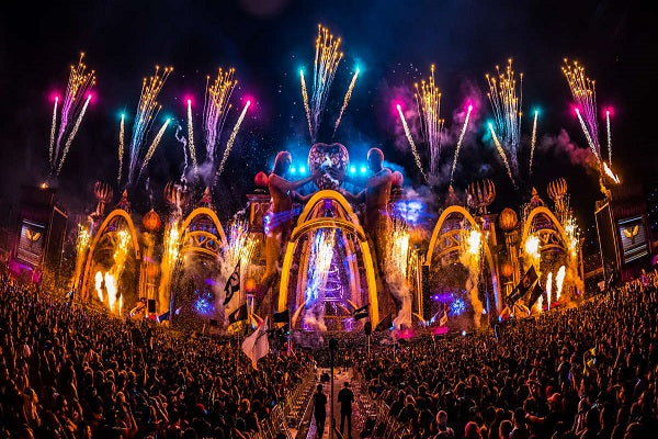 Electric Daisy Carnival (EDC) Live Global DJ-Sets DVD / 16GB USB-DRIVE COMPILATION (2017 - 2019)