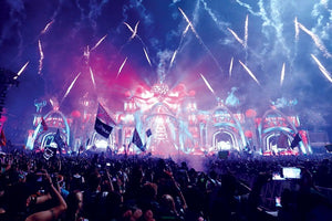 Electric Daisy Carnival (EDC) Las Vegas Live Audio & Video DJ-Sets PORTABLE 1TB USB 3 HARD DRIVE (2011 - 2019)